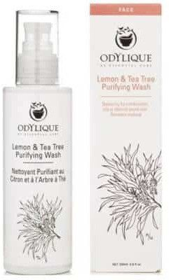 Odylique Odylique by Essential Care organiczny żel do mycia twarzy z aloesem, cytryną i olejkiem z drzewa herbacianego 30ml
