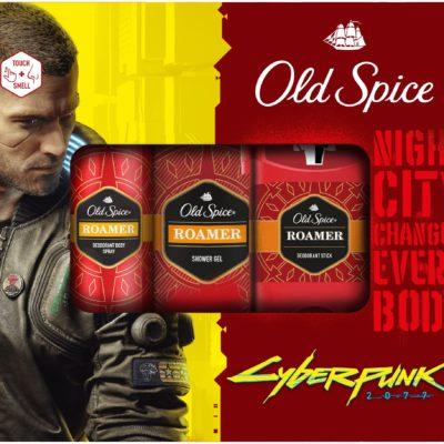 Old Spice Cyberpunk zestaw żel + spray + sztyft
