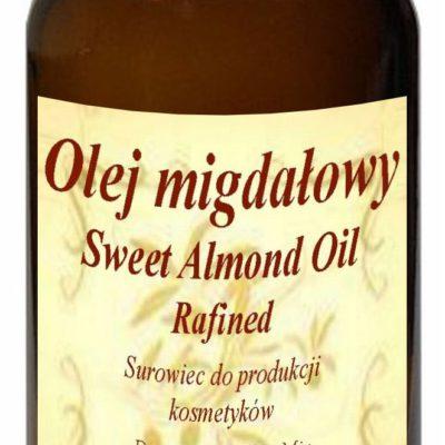 Olej Migdałowy 50ml - słodkie migdały