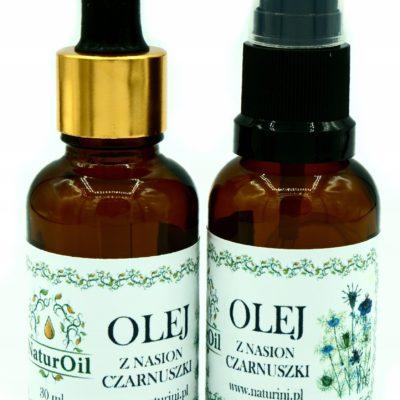 Olej z czarnuszki Nigella Sativa 30ml NaturOil