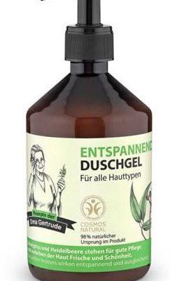 Oma Gertrude Żel do mycia ciała relaksujący Organiczny Eukaliptus 500 ml SIBERICA