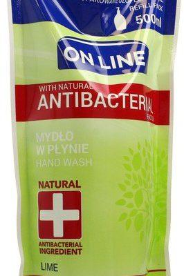 On Line Mydło w płynie Antybakteryjne Lime uzupełnienie 500ml