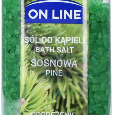 On Line On Line Sól do kąpieli Sosna 800 g