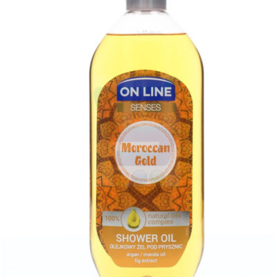 On Line Senses Olejkowy żel pod prysznic Maroccan Gold 500 ml