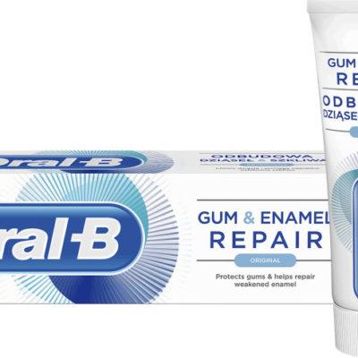 Oral-B pasta Pro-Repair Gum & Enamel - Odbudowa Dziąseł i Szkliwa (Original) 75ml