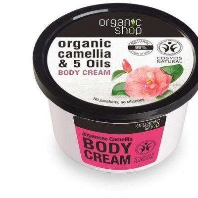 Organic Shop Japońska Kamelia Organiczny Krem Do Ciała 250ml