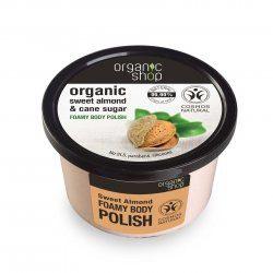 Organic Shop naturalny odmładzający peeling Słodkie migdały 250ml