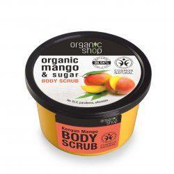 Organic Shop naturalny rozświetlający peeling do ciała Mango 250ml