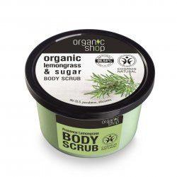 Organic Shop naturalny wygładzający peeling do ciała Trawa cytrynowa 250ml