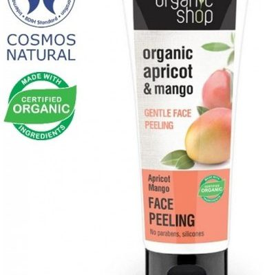 Organic Shop Organic Shop Morela i Mango Delikatny Peeling Do Twarzy 75ml