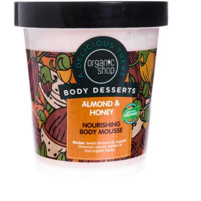 Organic Shop Organic Shop, mus do ciała Truskawkowy Jogurt, 250 ml