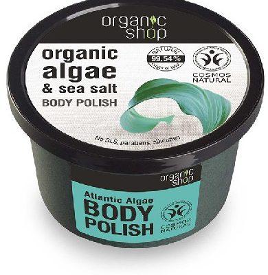 Organic Shop Peeling do ciała Atlantyckie Algi 250 ml SIBERICA