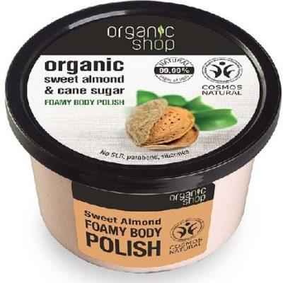 Organic Shop Peeling do ciała Słodki Migdał 250 ml SIBERICA