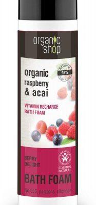 Organic Shop PlANA DO KĄPIELI JAGODOWA ROZKOSZ 500 ml -