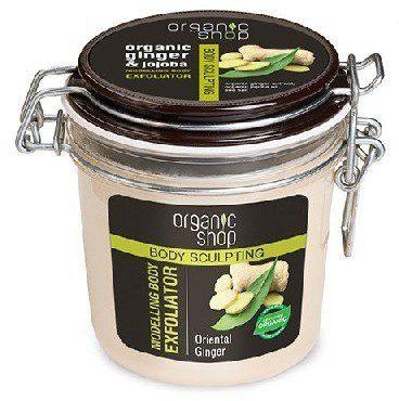 Organic Shop SLIM Scrub do ciała Modelujący Orientalny imbir 350 ml