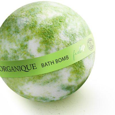 Organique Feel Up Bath Bomb Kula do kąpieli 170g