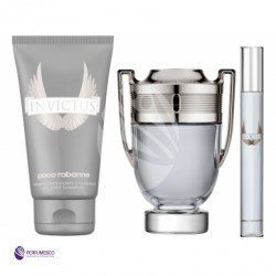 Paco Rabanne SET Invictus M) edt 100ml + sg 100ml + edt 5ml