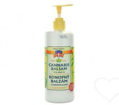 Palacio Balsam konopny regeneracyjny do pielęgnacji suchej skóry 8% oleju z konopi 500ml AE55-50334
