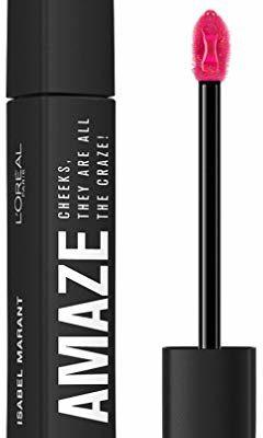 PARIS L'Oréal Isabel Marant AMAZE LIP GLOSS, delikatnie topniejący błyszczyk do ust i policzków, 8 ml