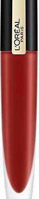 PARIS L'Oréal Rouge Signature nr 115 - Am Worth It, ultra-lekka i mocno pigmentowana pomadka do ust, matowe wykończenie o trwałości 24 h, 7 ml