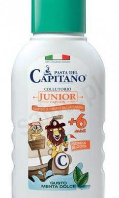 Pasta del Capitano Pasta del Capitano Junior - Płyn do płukania jamy ustnej dla dzieci (250 ml) 21F5-748BD