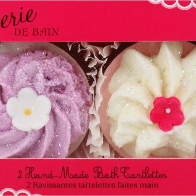 Patisserie De Bain Patisserie De Bain Kremowa Babeczka Do Kąpieli Cranberries & Cream 2 Sztuki
