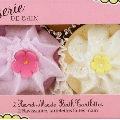 Patisserie De Bain Patisserie De Bain Kremowa Babeczka Do Kąpieli Strawberry & Lemon Meringue 2 Sztuki