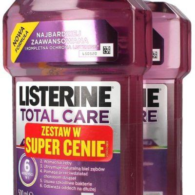 Pfizer Total Care, płyn do płukania jamy ustnej, 2x500 ml
