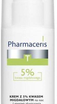 Pharmaceris KREM Z 5% KWASEM MIGDAŁOWYM na noc I stopień złuszczania SEBO-ALMOND PEEL 5%