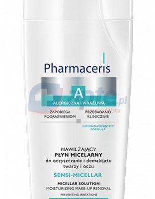 Pharmaceris PŁYN MICELARNY do oczyszczania i demaijażu twarzy i oczu ANTYBAKTERYJNY SEBO-MICELLAR