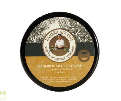 Pierwoje Reszenie AGAFIA - Miodowe mydło do ciała i włosów 300 ml BA3-BAB-099
