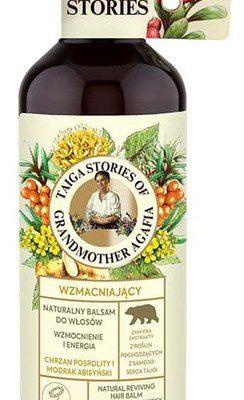 Pierwoje Reszenie Receptury Babuszki Receptury Babuszki Taiga Stories Wzmacniający naturalny balsam do włosów chrzan pospolity i modrak abisyński 500ml