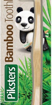 Piksters PIKSTERS Bamboo SOFT - ekologiczna szczoteczka do zębów z bambusa
