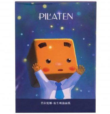 Pilaten Pilaten Native Blotting Paper chusteczki oczyszczające 101 szt dla kobiet
