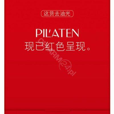 Pilaten Pilaten red Bibułka matująca do twarzy 100szt