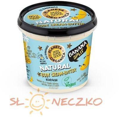 Planeta Organica Masło do ciała odżywczo-nawilżający Banan 360 ml SSG Msr-D758-2372B