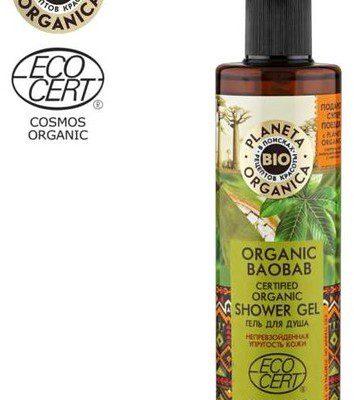 Planeta Organica Organic Baobab Żel pod prysznic 280ml