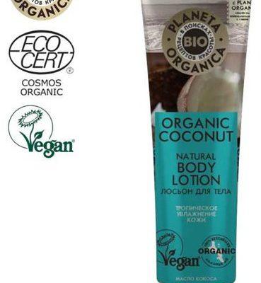Planeta Organica Organic Coconut Balsam do ciała Nawilżenie i zmiękczenie 140ml
