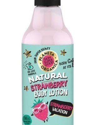 Planeta Organica Skin Super Good balsam do ciała Truskawka 250ml 52498-uniw