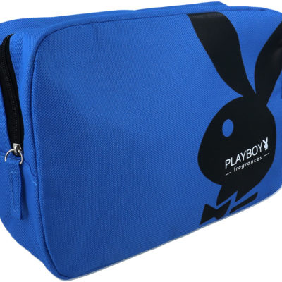 Playboy Playboy Niebieska Kosmetyczka Na Zamek
