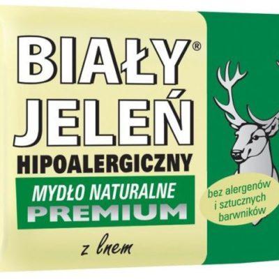 Pollena Biały Jeleń Hipoalergiczne mydło PREMIUM 100g