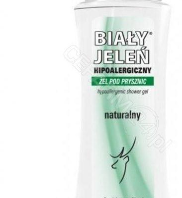 Pollena Biały Jeleń Hipoalergiczny Żel Pod Prysznic Naturalny 250ml