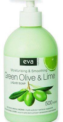 Pollena Eva Mydło w płynie do rąk Zielona oliwka i limonka 500 ml