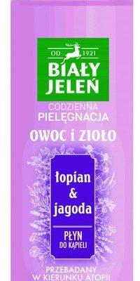 Pollena Owoc i Zioło Płyn do kąpieli Łopian & Jagoda 400ml