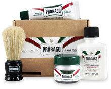 PRORASO Zestaw podróżny do golenia dla skóry wrażliwej 9568
