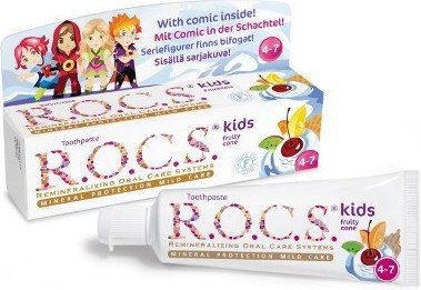 R.O.C.S. KIDS Owocowy rożek 35 ml