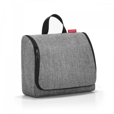 Reisenthel kosmetyczka toiletbag XL twist silver RWO7052