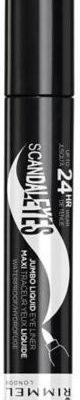 Rimmel Scandaleyes Jumbo Liquid Eyeliner wodoodporny w pisaku 001 Black 3 ml 3607347825838