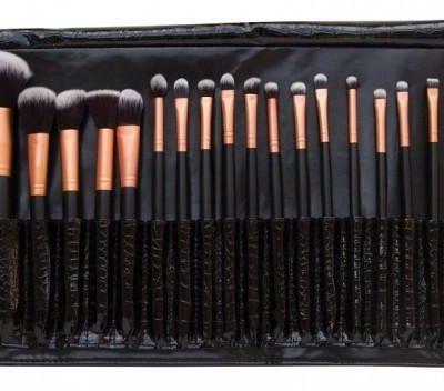 Rio Beauty Professional Cosmetic Brush Collection zestaw profesjonalnych pędzli i akcesorów do makijażu