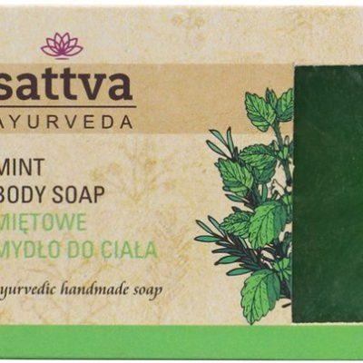 Sattva Sattva Body Soap indyjskie Mydło glicerynowe mint 125g